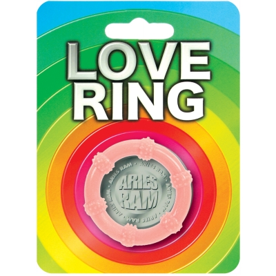 Beaded Love Ring 1