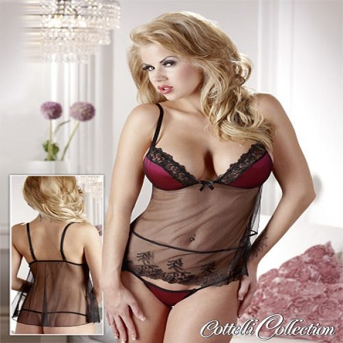 Cottelli Collection Sexy Short Babydoll
