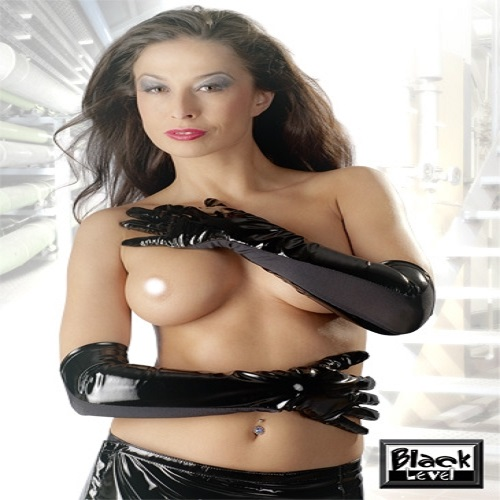Black Level PVC Gloves