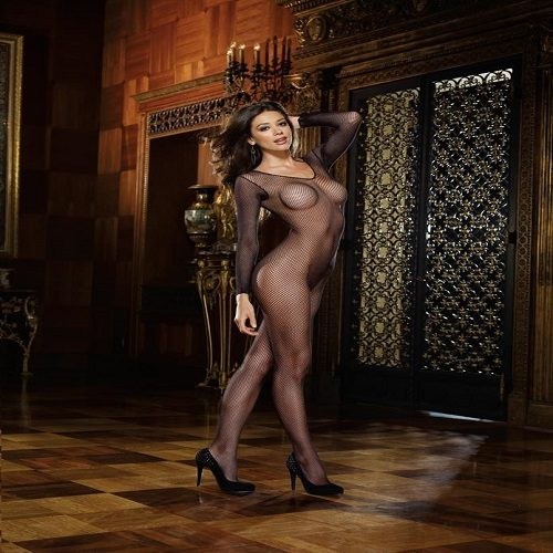Dreamgirl Women's Amsterdam Fishnet Bodystocking 1