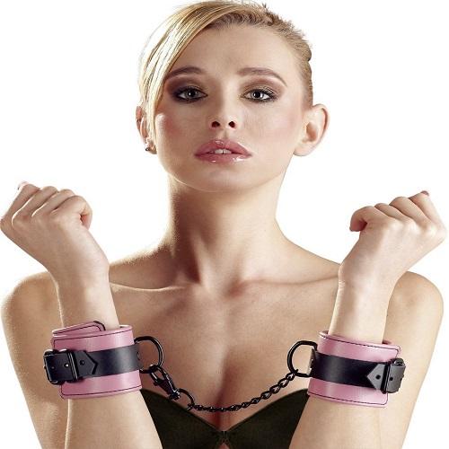 Bad Kitty Pink Hand Cuffs 1