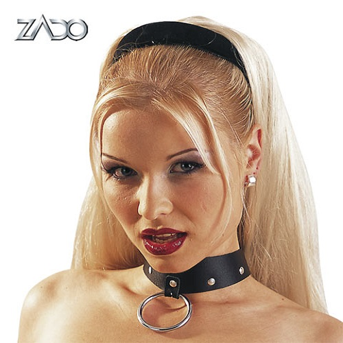 Zado Leather Collar And Ring