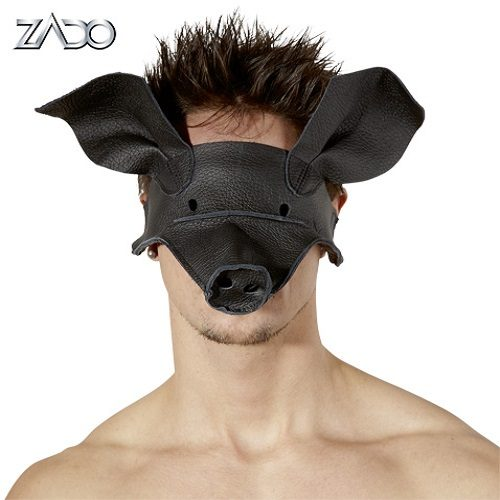 Zado Leather Pig Mask