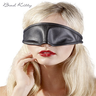 Bad Kitty Synthetic Leather Eye Mask