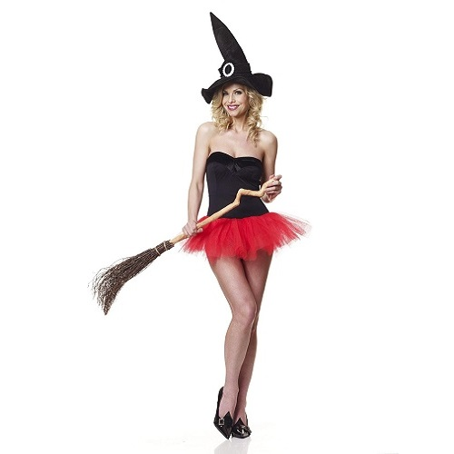 Female Tu Tu Witch Costume