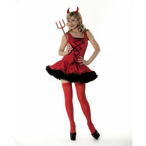 Red Devil Dress