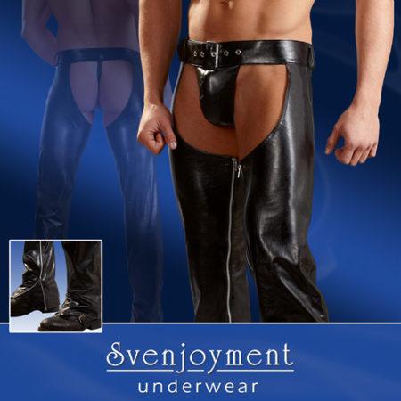Svenjoyment Faux Leather Chaps