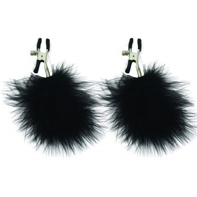 Sex & Mischief Feathered Nipple Clamps 1