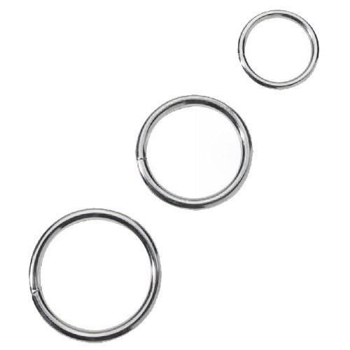 Spartacus Nickel Plated Metal Cock Ring Set (3 Pack) 1