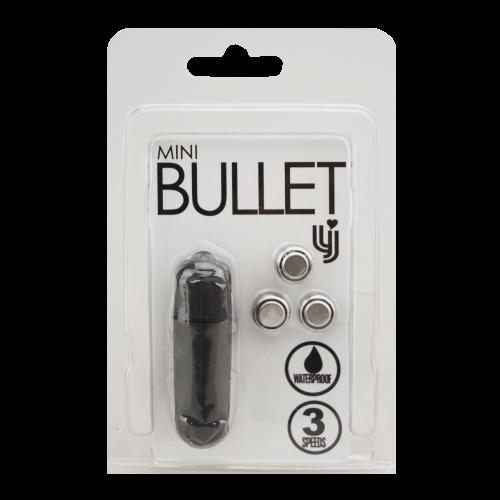 Loving Joy 3 Speed Mini Bullet Vibrator Black 1