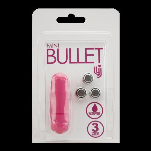 Loving Joy 3 Speed Mini Bullet Vibrator Pink 1
