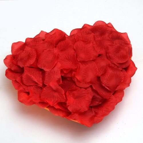 100 Red Silk Rose Petals 1
