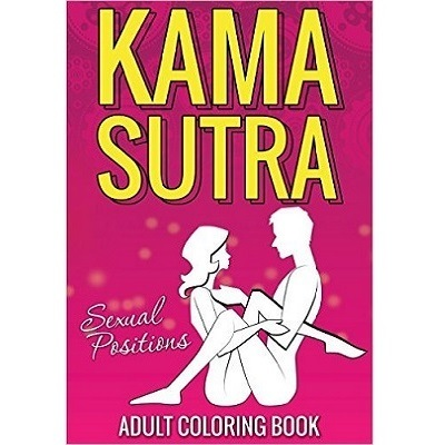 Kama Sutra Sexual Positions Adult Colouring Book 1