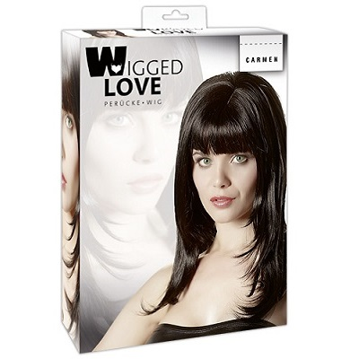 Wigged Love Carmen Long Black Wig