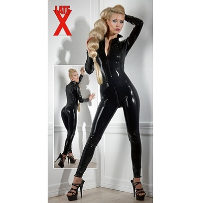 Late X Collection Latex Catsuit