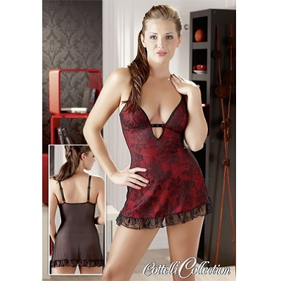 Cottelli Collection Rose Chemise