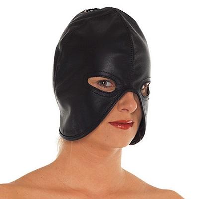 Rimba Leather Head Mask