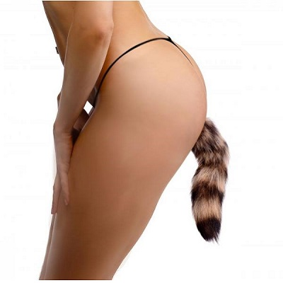 Tailz Faux Fur Fox Tail Anal Plug 3