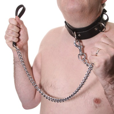 House Of Eros Large Mens Collar And Heavy Chain Lead 1