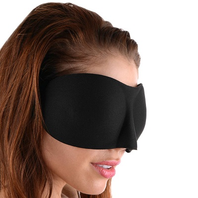 Frisky Deluxe Black out Blindfold 1