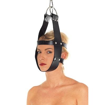 Rimba Leather Mask Hanger 1