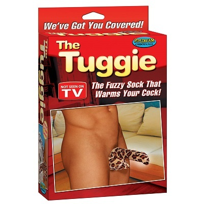 The Tuggie Fuzzy Cock Sock 1