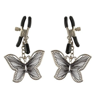 Fetish Fantasy Series Butterfly Nipple Clamps 1