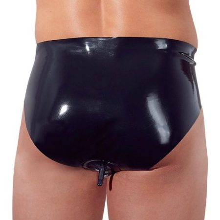 LateX Collection Latex Briefs With Anal Plug 2