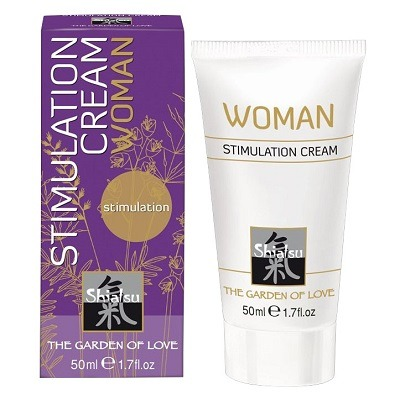 Shiatsu Geisha's Dream Stimulation Cream 1