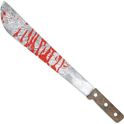 Halloween Slasher Machete Bloody Knife 1