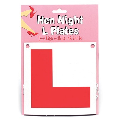 Hen Night L Plates 1