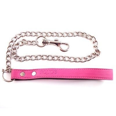 Rouge Garments Pink Leather Lead 1