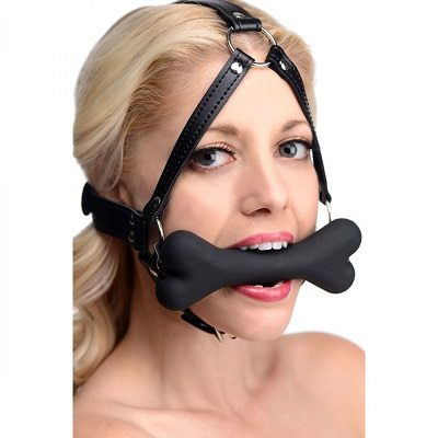 Master Series Hound Bone Gag Head Harness 1