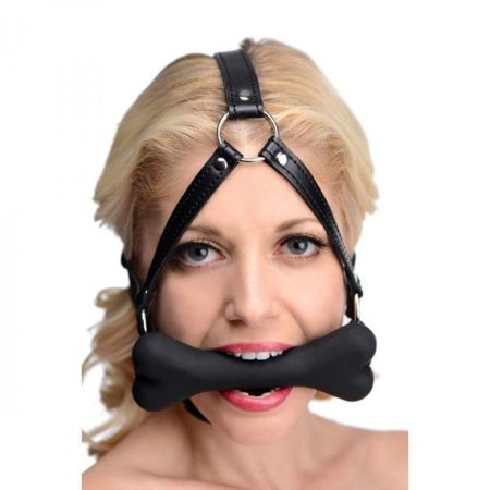 Master Series Hound Bone Gag Head Harness 2