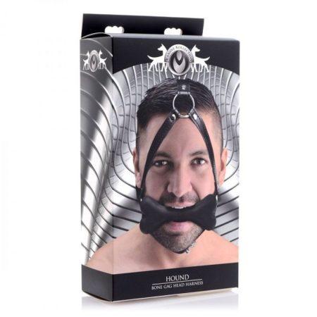 Master Series Hound Bone Gag Head Harness 4