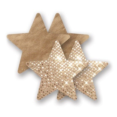 Nippies Gold Super Star Pasties 1