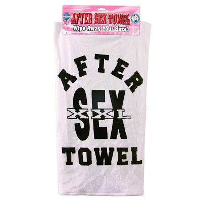 After Sex Towel Wipe Away Your Sins 1