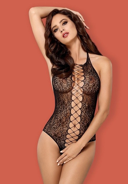 Obsessive Floral Lace Up Teddy 3