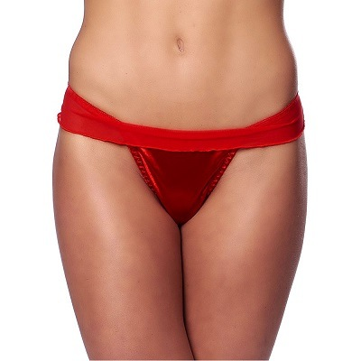 Rimba Flirty Red Briefs With Bow 1