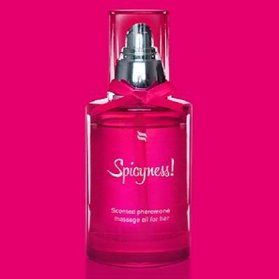 Spicyness Scented Pheromone Massage Oil For Her 100ml 1