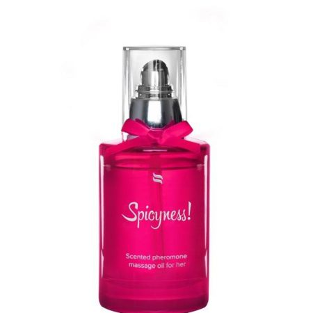 Spicyness Scented Pheromone Massage Oil For Her 100ml 2