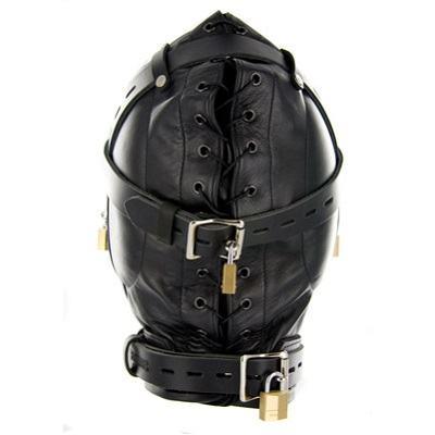 Strict Leather Sensory Deprivation Hood 3