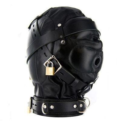 Strict Leather Sensory Deprivation Hood 4