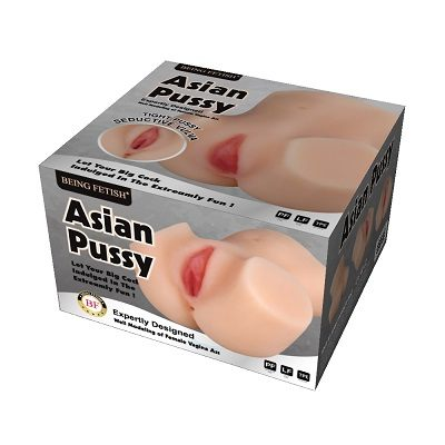 Asian Pussy and Ass Pocket Male Masturbator 1