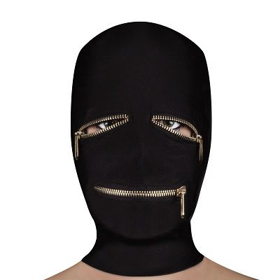 Ouch Extreme Zipper Mask With Eye And Mouth Zipper 1