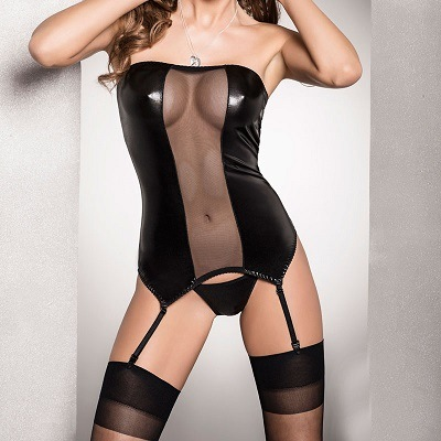 Passion Zola Corset Black 1