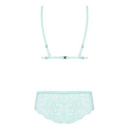 Delicanta Set Mint Bra And Panties 4