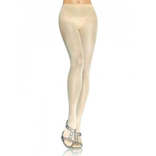 Leg Avenue Opaque Pantyhose Nude 1