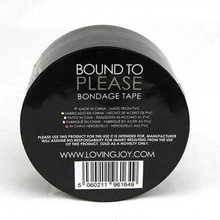 Bound to Please Bondage Tape Black