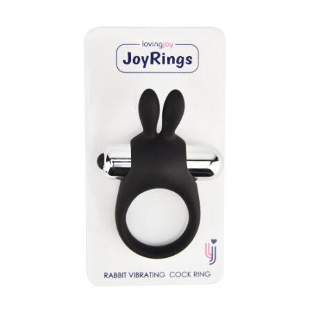 JoyRings Silicone Rabbit Vibrating Cock Ring